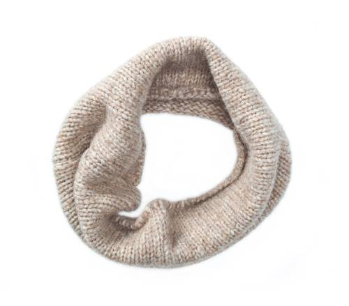 "Children""s wool and cotton loop scarf"