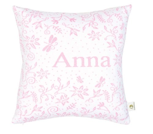 Meadow. Pillow case with a name