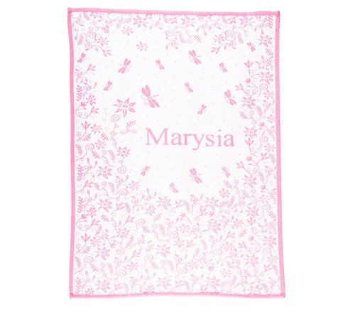 Meadow blanket with a name 75x100 cm