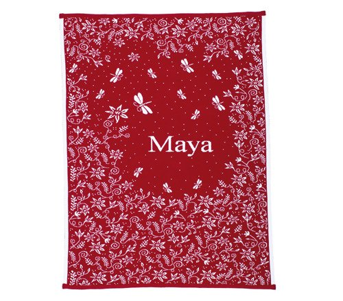 Meadow blanket with a name 90x130 cm