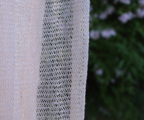 Scarf made of linen